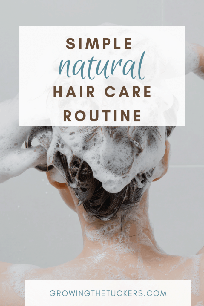 Simple Natural Hair Care Routine Growing The Tuckers