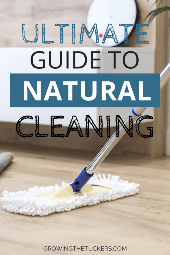 Are you wanting to use more natural cleaning products in your home? We are sharing our favorite natural cleaning supplies and cleaning tips.