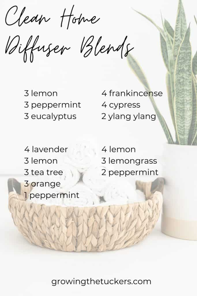 Clean Home Diffuser Blends