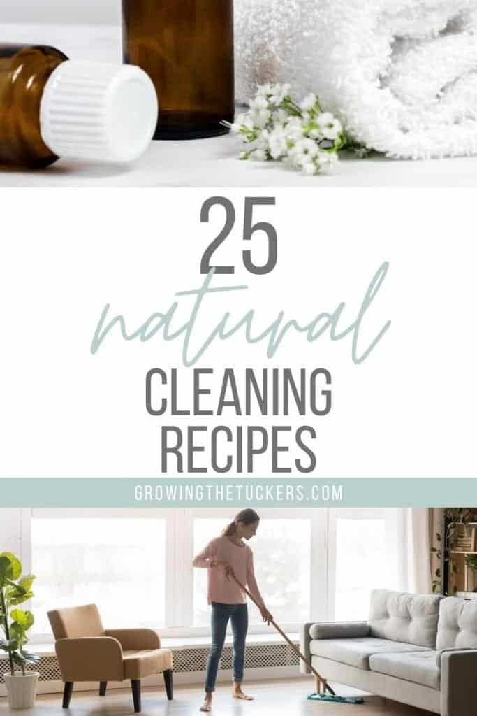25 Natural Homemade Cleaning Recipes