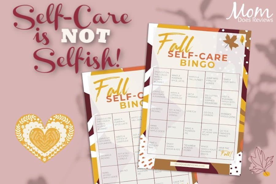self care Sunday and self care bingo by mom does reviews
