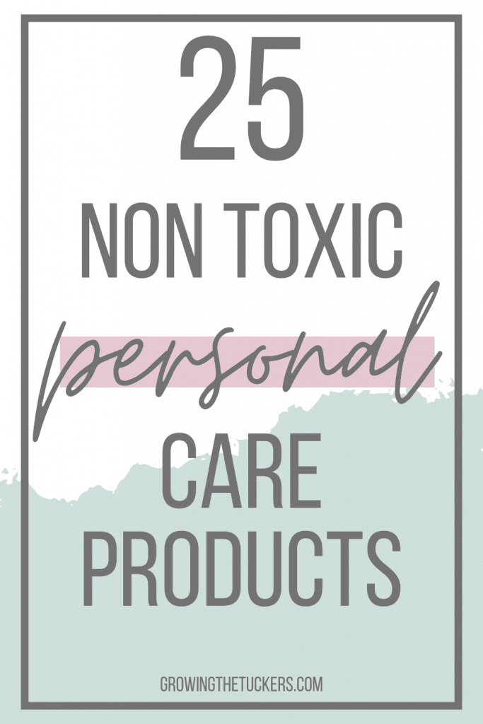 25 Non Toxic Personal Care Products