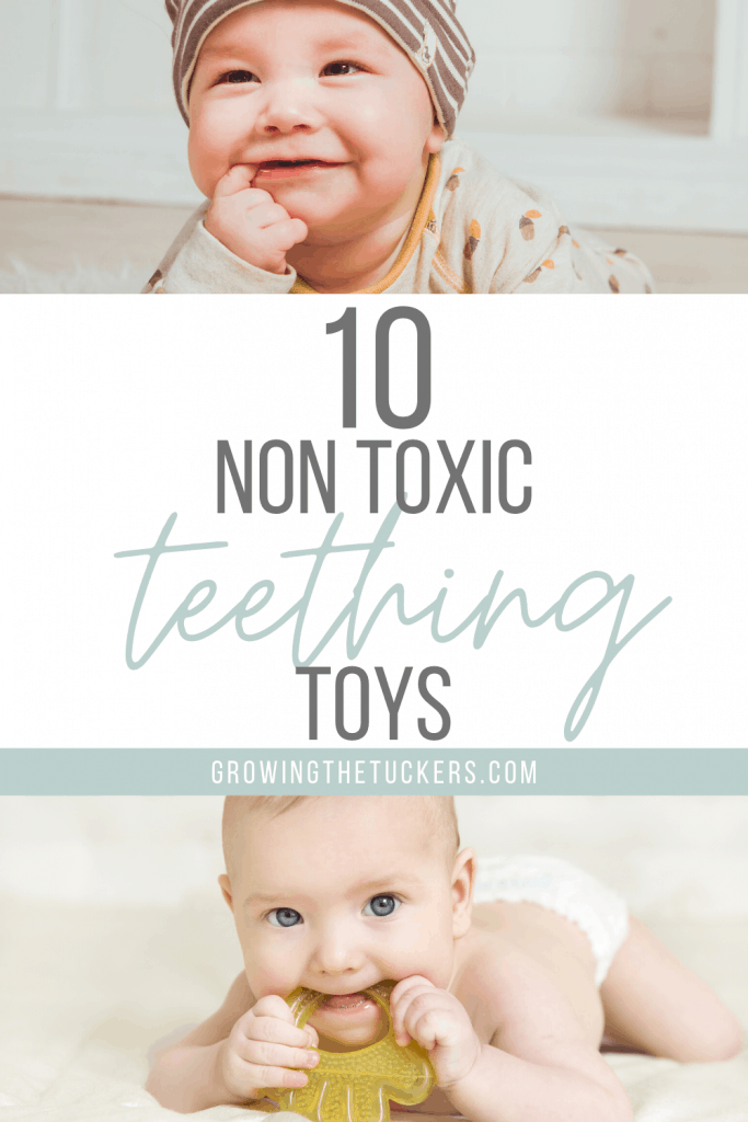 Non Toxic Teething Toys for babies