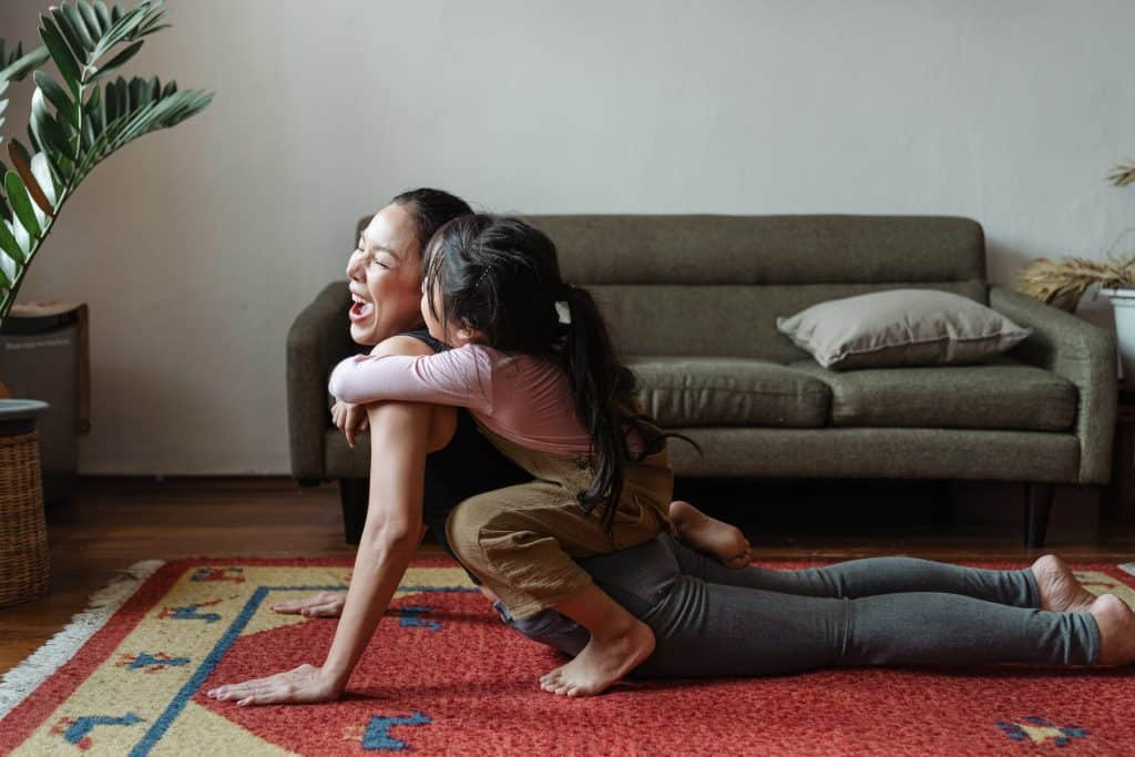 Yoga, Mom, and Kid